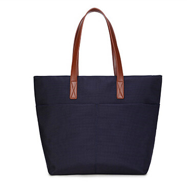 Monika Plus Size Nylon Shopper Bag